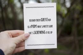 Kaart 'Mom' A6/A5