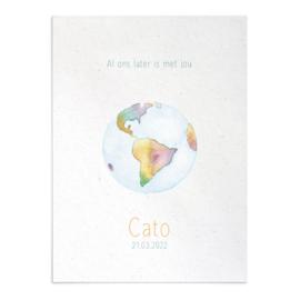 Geboortekaart Cato