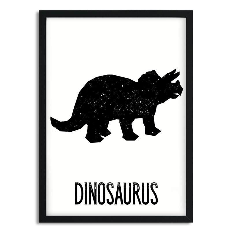 Poster Dino A4