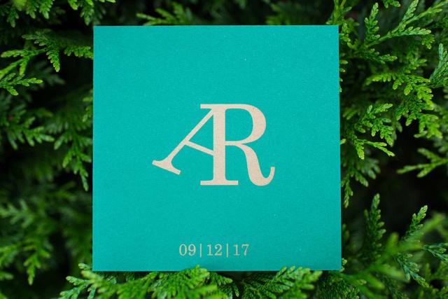 De trouwkaart van Ralph & Annelies