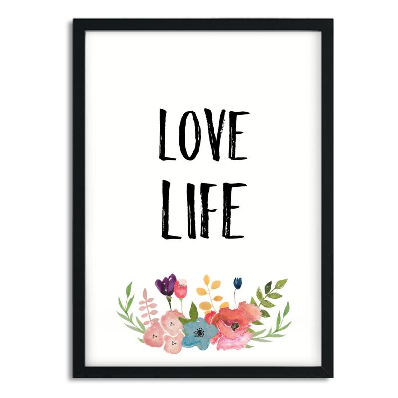Mini Poster 'Love life'