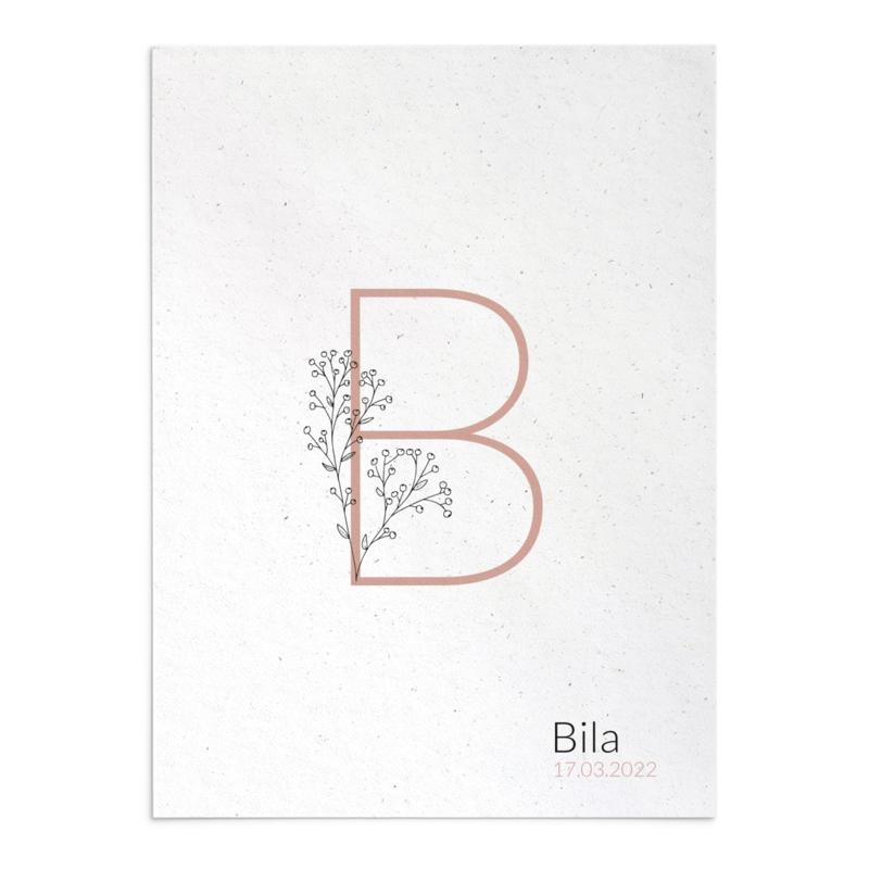 Geboortekaart Bila
