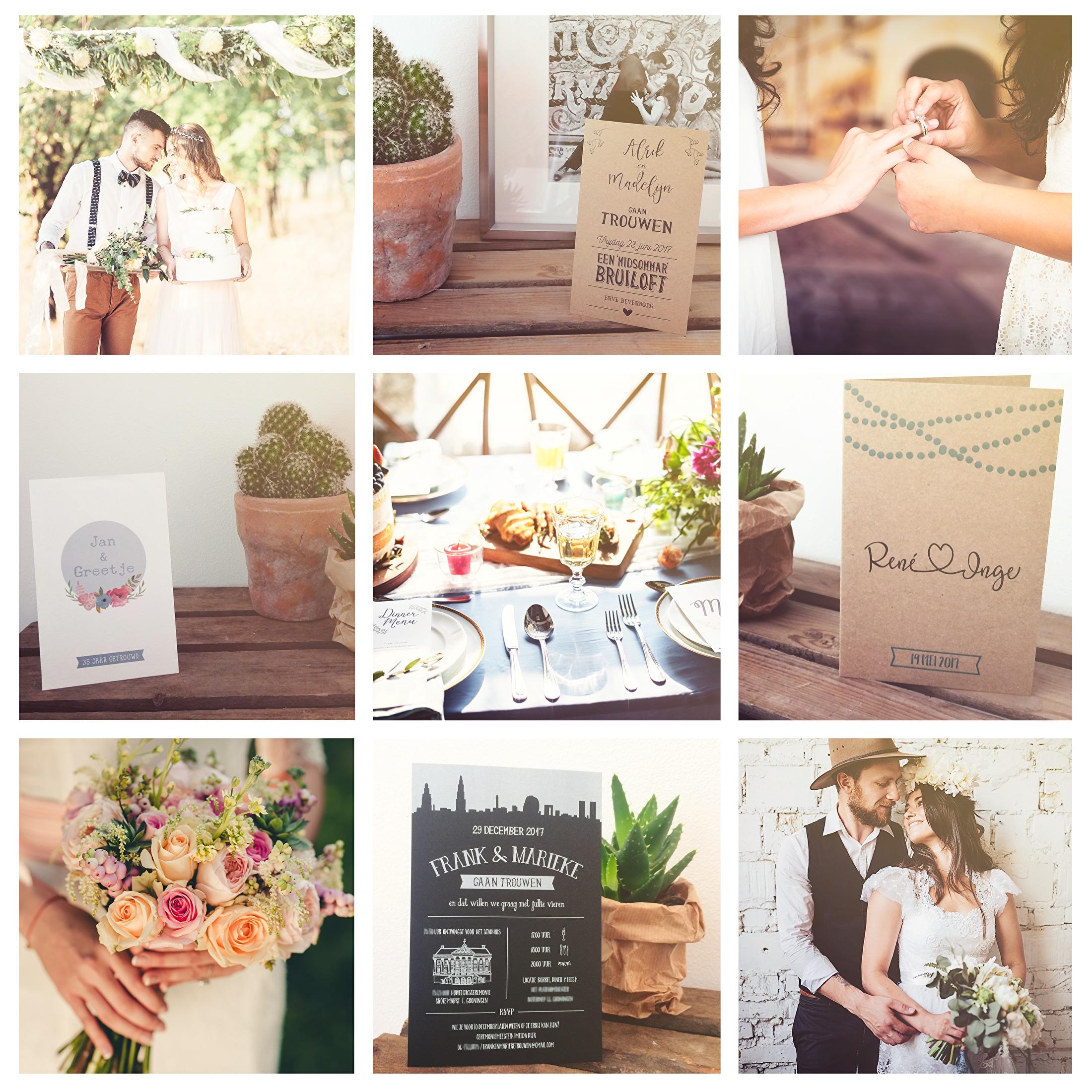 Portfolio trouwkaarten