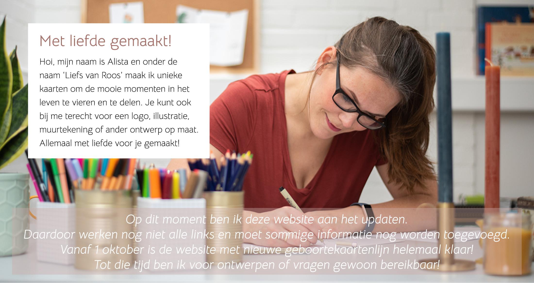 Onderhoud website Liefs van Roos