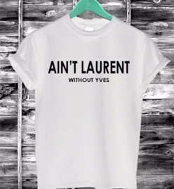 LAURENT TEE WHITE