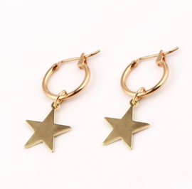 STAR GOLD EARRINGS