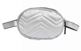 FANNY PACK SILVER