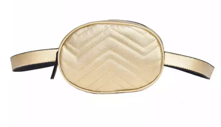 FANNY PACK GOLD