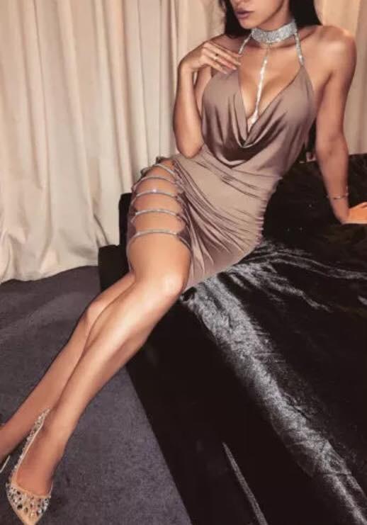 SEXY GLITTER DRESS