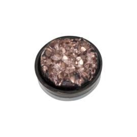 iXXXi Jewelry Top Part Drusy Copper Zwart