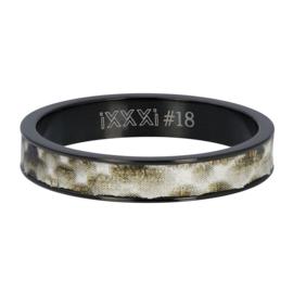 iXXXi Jewelry Vulring 4mm Python Zwart