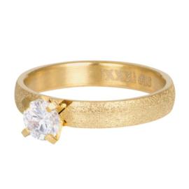 iXXXi Jewelry Losse Ring Estelle 4mm Goudkleurig