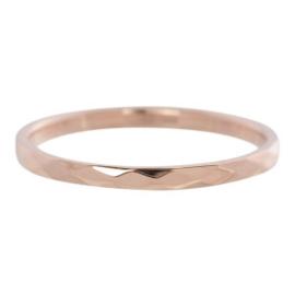 iXXXi Jewelry Hammerite Rosé 2mm