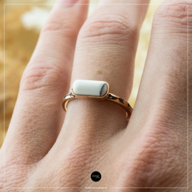iXXXi Jewelry Losse Ring Festival White Rosé 2mm