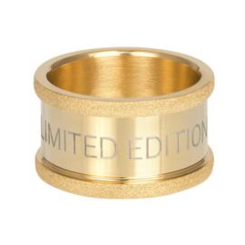 iXXXi Jewelry Basisring Limited 12mm Goudkleurig