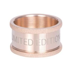 iXXXi Jewelry Basisring Limited 12mm Rosé