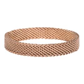 iXXXi Jewelry Mesh Bruin 4mm