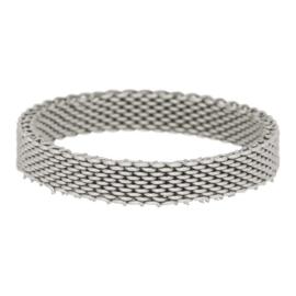 iXXXi Jewelry Mesh Zilverkleurig 4mm