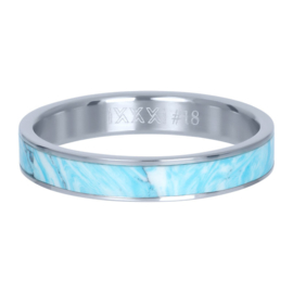 iXXXi Jewelry Vulring Blue Paradise 4mm