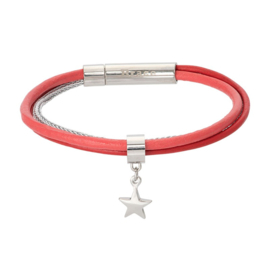 iXXXi Brace Bracelet BR129039 Zilverkleurig