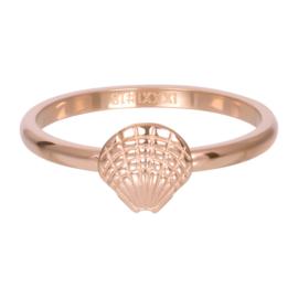 iXXXi Jewelry Vulring Symbol Shell Rosé 2mm
