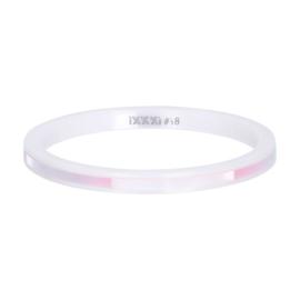 iXXXi Jewelry Vulring Ceramic Pink Shell 2mm