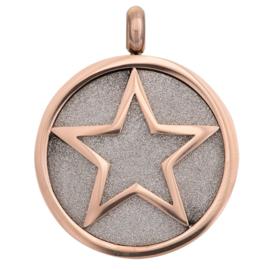 iXXXi Jewelry Pendant Glamour Star Rosé
