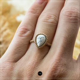 iXXXi Jewelry Losse Ring Magic White Rosé 2mm