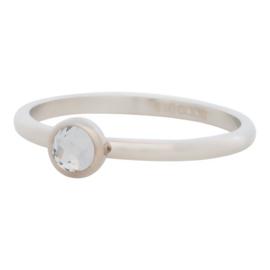 iXXXi Jewelry 1 Zirconia White Zilverkleurig 2mm