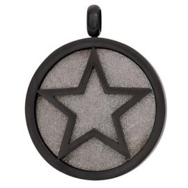 iXXXi Jewelry Pendant Glamour Star Zwart