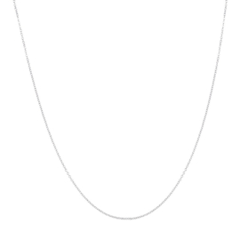 iXXXi Jewelry Ketting 1mm 40-80cm Zilverkleurig