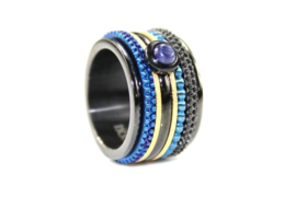 iXXXi Jewelry Sandblasted Goudkleurig 1mm