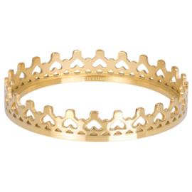 iXXXi Jewelry Vulring Royal Crown 1mm Goudkleurig