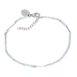iXXXi Jewelry Bracelets Curacao Blue Zilverkleurig