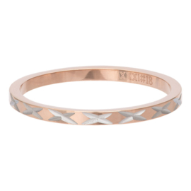 iXXXi Jewelry Vulring 2mm X Row Rosé