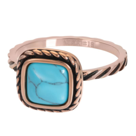 iXXXi Jewelry Vulring Summer Turquoise Rosé