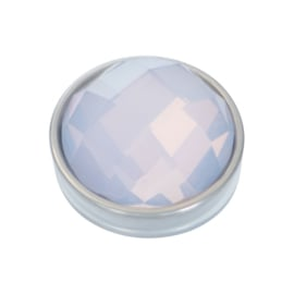 iXXXi Jewelry Top Part Facet Opal Zilverkleurig