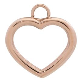 iXXXi Jewelry Charm Open Hart Rosé