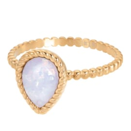iXXXi Jewelry Vulring Magic Snow 2mm Goudkleurig