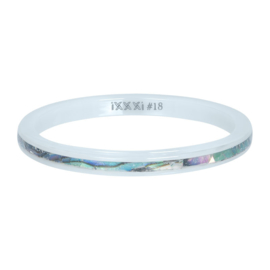 iXXXi Jewelry Vulring Ceramic Amber Shell 2mm