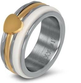 iXXXi JEWELRY Combi Ring 8