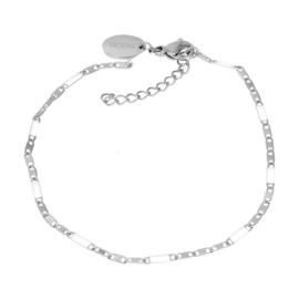 iXXXi Jewelry Bracelets Curacao White Zilverkleurig