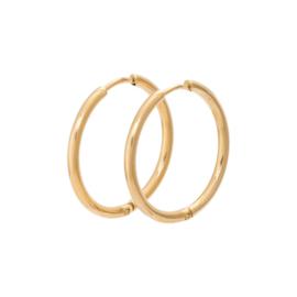 iXXXi Jewelry Creool 24 mm Goudkleurig