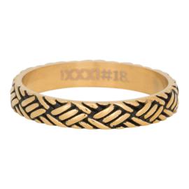 iXXXi Jewelry Love Knot Goudkleurig 4mm