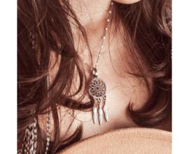 iXXXi Jewelry Magic Dreamcatcher Ketting Zilverkleurig