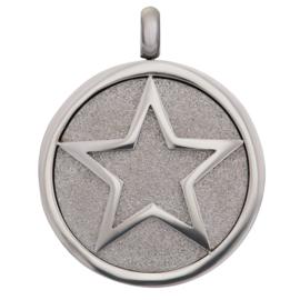 iXXXi Jewelry Pendant Glamour Star Zilverkleurig
