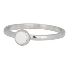 iXXXi Jewelry 1 Bright White Silver colour 2mm
