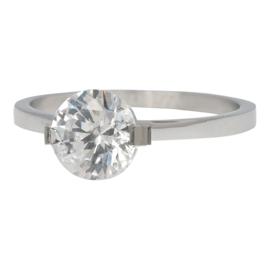 iXXXi Jewelry Glamour Stone Zilverkleurig 2mm
