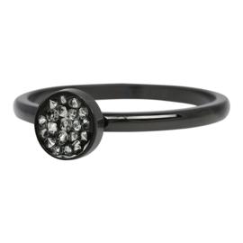 iXXXi Jewelry Cup Stones Zwart 2mm