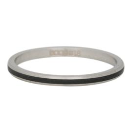iXXXi Jewelry Line Zwart 2mm